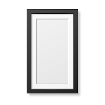 Realistisch zwart frame