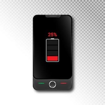 Realistische 3d-smartphone