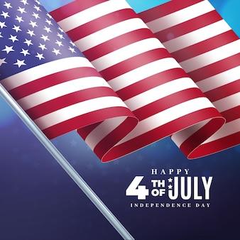 Realistische 4 juli onafhankelijkheidsdag