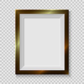 Realistische afbeeldingsframe geïsoleerd