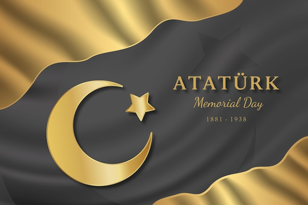 Realistische atatürk-herdenkingsdag