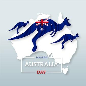 Realistische australië-dag
