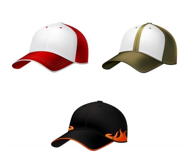 Realistische baseball cap