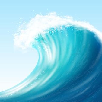 Realistische big wave