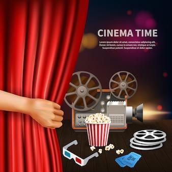 Realistische bioscoop