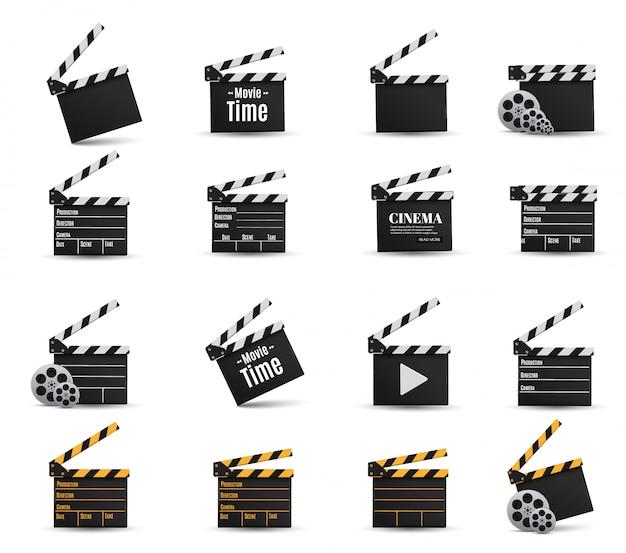 Realistische bioscoopklepperset