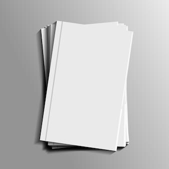 Realistische briefpapiermodel voor decoratie en bekleding. concept van huisstijl branding.