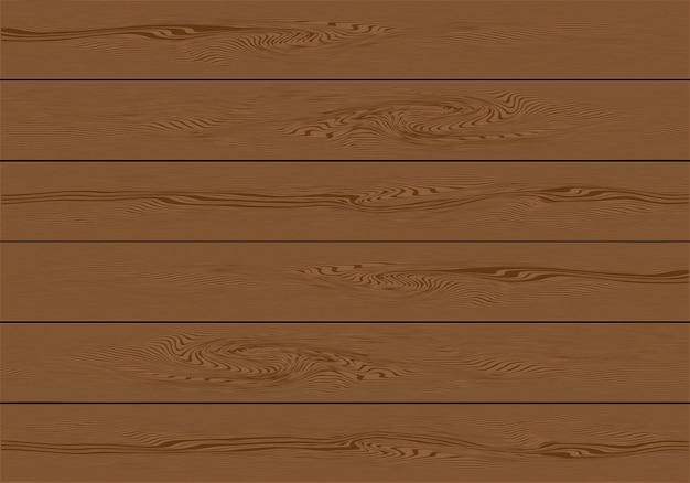 Realistische bruine houten plankachtergrond