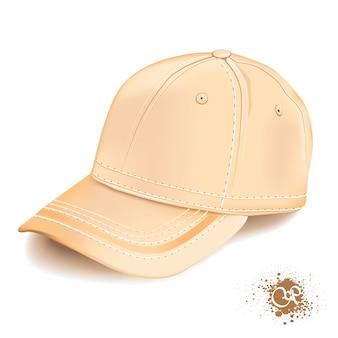 Realistische cap