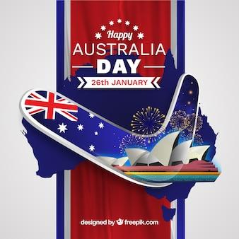 Realistische dag van australië