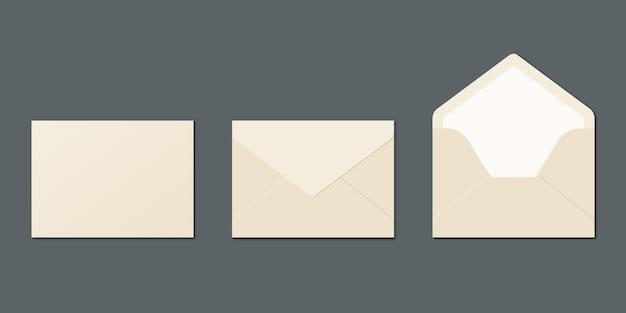 Realistische envelop set