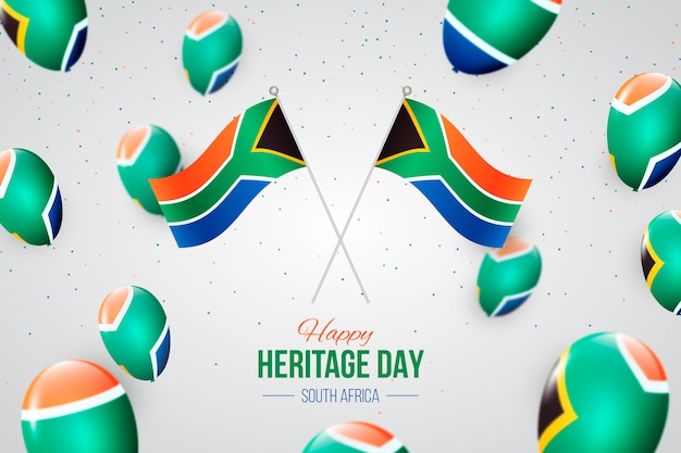 Realistische erfgoeddag zuid-afrika