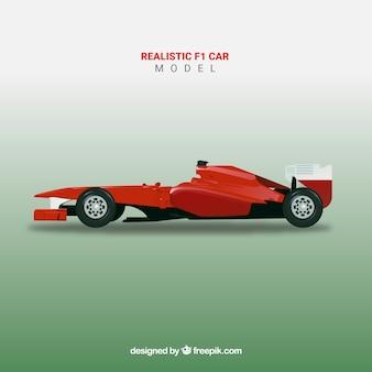 Realistische formule 1 raceauto