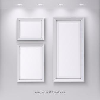 Realistische frames template