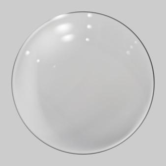Realistische glazen bol