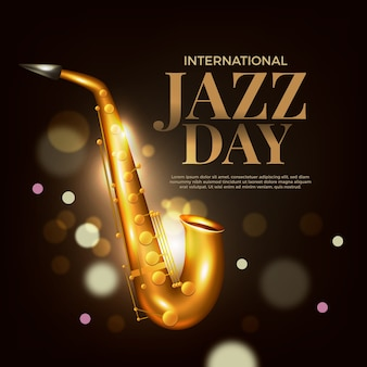Realistische internationale jazzdag