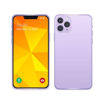 Realistische iphone 11-mock-up