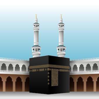 Realistische islamitische bedevaart