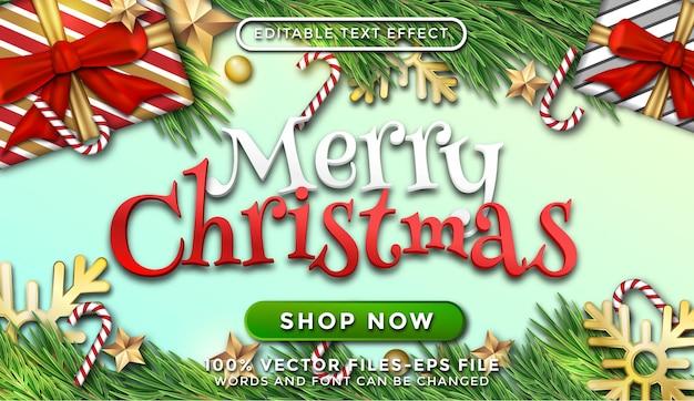 Realistische kerstachtergrond premium vector