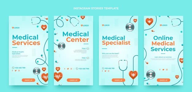 Realistische medische ig-verhalen