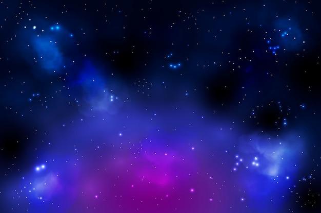 Realistische melkwegachtergrond