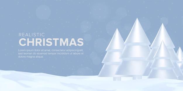 Realistische merry christmas