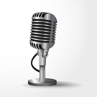 Realistische microfoon