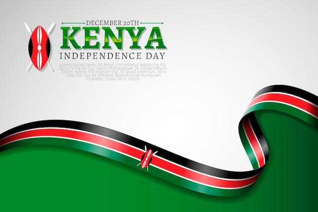 Realistische nationale jamhuri-dag in kenia