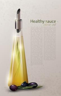 Realistische natuurlijke productsjabloon