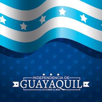 Realistische onafhankelijkheid van guayaquil