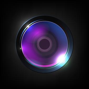 Realistische optische fotolens van hoge kwaliteit