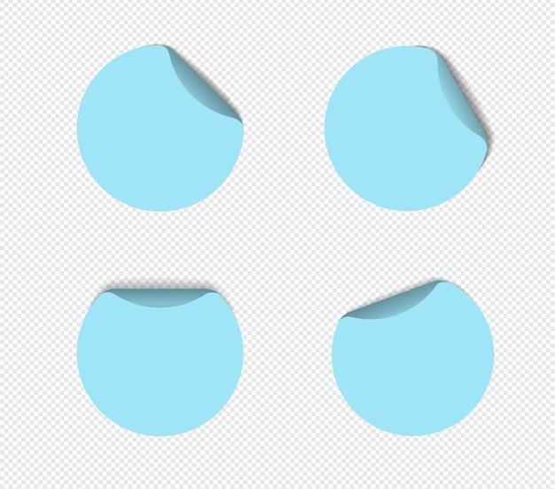 Realistische plaknotities geïsoleerd met echte schaduw op witte achtergrond. vierkante plakkerige herinneringen met schaduwen.