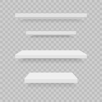 Realistische plastic planken set