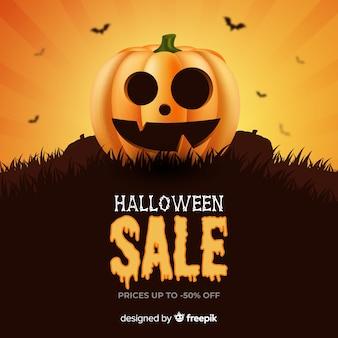 Realistische pompoen halloween verkoop