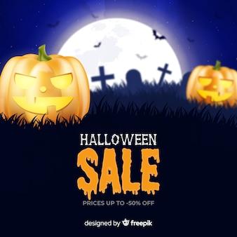 Realistische pompoenen halloween verkoop