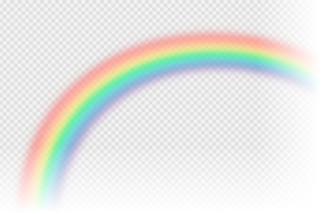 Realistische regenboog