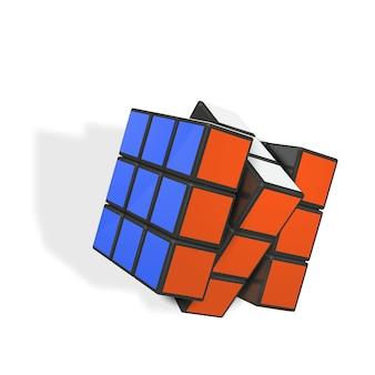 Realistische rubiks-kubus