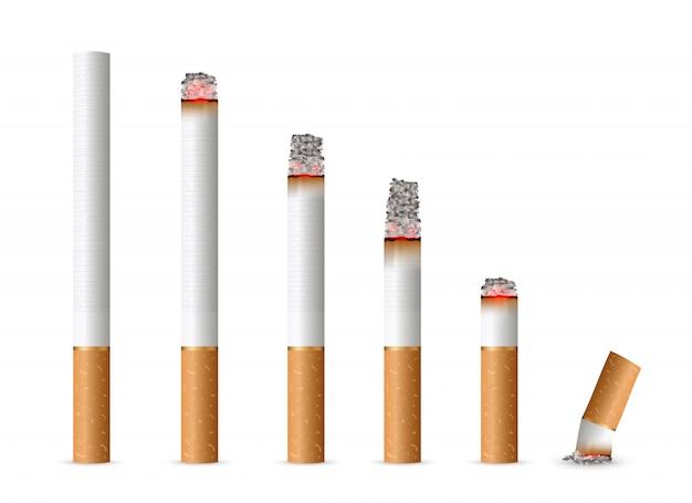 Realistische sigaret