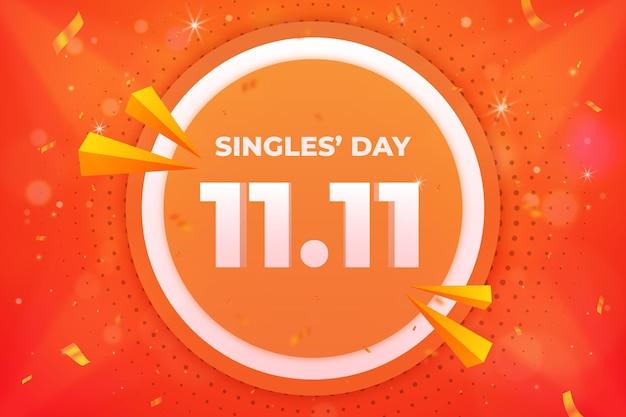 Realistische singles 'dag