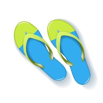 Realistische slippers