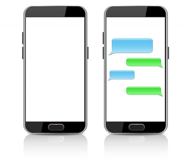Realistische smartphone