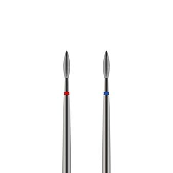 Realistische snijders type vlam voor hardware manicure, vectorillustratie