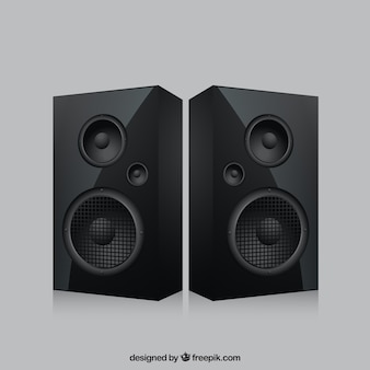 Realistische speakers