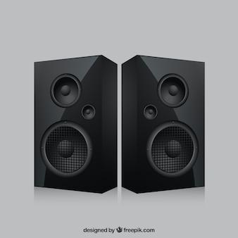 Realistische speakers