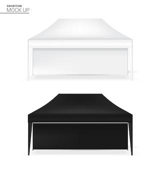Realistische tent display booth retail te koop marketing promotie tentoonstelling