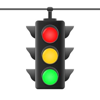Realistische verkeerslichten