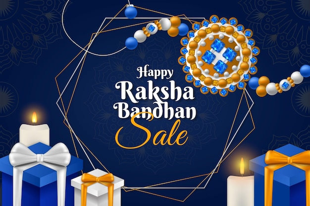 Realistische verkoop van raksha bandhan