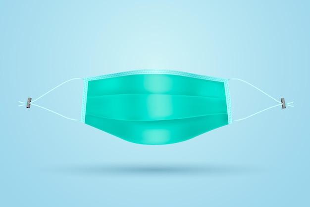 Realistische verstelbare lanyard voor het gezichtsmasker