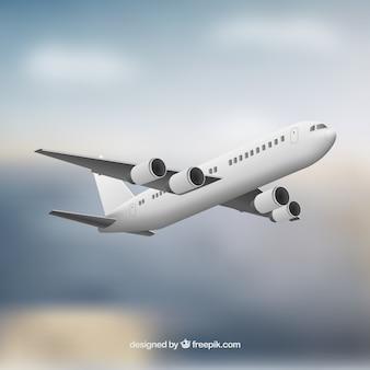 Realistische vliegtuig