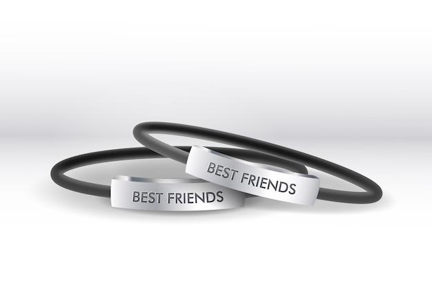 Realistische vriendschapsband